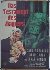TESTAMENT DES MAGIERS (Kinoplakat/Filmplakat '65) - CONNIE STEVENS / DEAN JONES