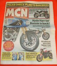 MCN - MOTORCYCLE NEWS - FIAT ABARTH YAMAHA FZ1 - Nov 19 2008