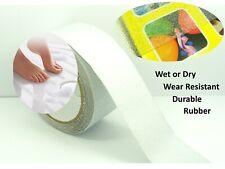 "Translucent 50mm (2"") RUBBER Anti NON Slip Safety TAPE ~Shower/ Tiles/ Bathtub~"