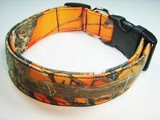 Charming Orange True Timber Hunting Camouflage Standard Dog Collar