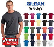 Gildan Softstyle T-Shirt Ring Spun Cotton Soft Short Sleeve Blank Light T 64000