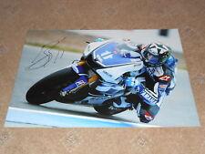 Ben Spies Signed 2012 Yamaha Large Photo 18x12 1.
