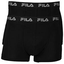 Fila 2er Confezione Uomo Base Boxer, Essential, Elasticizzati con Logo, S-XXL