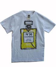 Actual Fact Men's 36 Chambers Bottle Wu Tang Clan White Cotton Crew Tee T-shirt