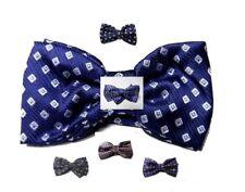 cravatta a farfalla PER UOMO BOW TIE MAN TOP CLASS PAPILLON BLU Vari con disegni