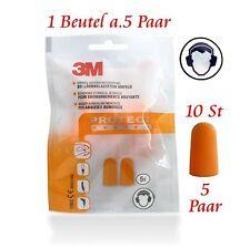 3M 1100C - Gehörschutzstöpsel - Ohrstöpsel - (5 - 10 oder 15 Paar) 37dB - NEU
