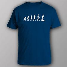 Funny T-shirt EVOLUTION OF SURFER surfing gift present