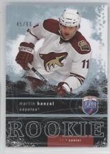 2007 Upper Deck Be a Player 279 Martin Hanzal Phoenix Coyotes Rookie Hockey Card