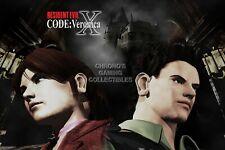 RGC Huge Poster - Resident Evil Code Veronica X Nintendo Wii U GameCube - EXT299