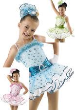 "NEW Weissman /""Young at Heart/"" Dance Costume Skate Dress  6083 Child"