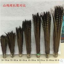 Al por mayor 20//50//100 piezas hermosas plumas de faisán natural 7-12 cm//3-5 pulgadas