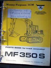 Massey Ferguson pelleteuse MF350S :catalogue pièce 1973