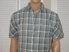 Ecko Unltd Plaid Short Sleeve Shirt Gray NWOT