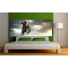 Adesivi Testa de letto decocrazione stanza Moto Cross 9123