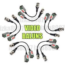 E5 - CAT5 CCTV Camera BNC VIDEO BALUN Transceiver UTP Cable 202P Coaxial Coax