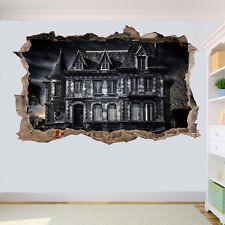 Maison hantée gothique goth Wall stickers 3D Art Mural Chambre Bureau Shop DECOR SC9