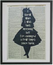Alice in Wonderland Print No.599