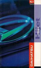Daihatsu Hijet 1996-97 UK Market Sales Brochure 1000 Diesel Van Pick Up Tipper