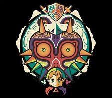 The Legend of Zelda Majora's Mask A Terrible Fate Video Game Mens T-Shirt NEW!
