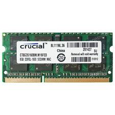 8GB 16GB PC3L-12800 DDR3-1600 204pin 1.35v Memory For Mac mini Late 2012 A1347
