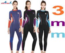 New listing 3Mm Womens Long Neoprene Sleeve Scr Scuba Diving WetSuit Snorkeling Surf