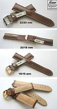 - FLUCO Shell Cordovan Pferdeleder Pferdelederuhrenarmband : 18 mm, 20 mm, 22 mm