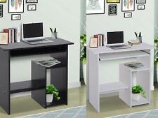 Modern Compact Computer Desk Corner Wooden Desktop Table Office Workstation