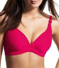 FREYA Cabaret U/W PLUNGE BIKINI TOP Swimwear Freesia Pink 3076 NEW