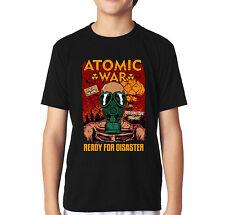 Velocitee Kids T-Shirt Guerra Atómica Jugador Juegos Juego V22