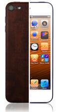 Skinomi Skin Dark Wood Cover+Clear Screen Protector for Apple iPod 5G 16GB