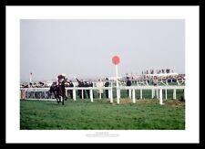 Red Rum 2nd Grand National WIN 1974 HORSE RACING MEMORABILIA di foto (950)