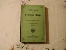 Statistisches Jahrbuch für das Deutsche Reich 1915