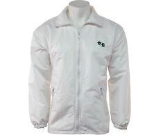 Unisex Bowling Bowls club Jacket Mesh Lined Waterproof Jacket Detachable Hood