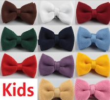 enfants pré-noué mariage événement BAL tricoté nœud papillon Barrette UK