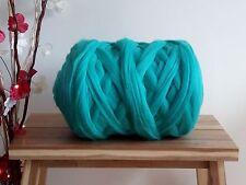 Light Turquoise* 100% Merino Wool Giant Yarn Extreme Arm Knitting, 100g - 1kg