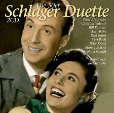 CD canzonette Duette della 50er anni di vari artista 2cds