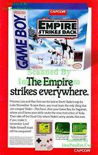 Star Wars: ESB: GameBoy: Empire Strikes Everywhere: Original Print Ad!