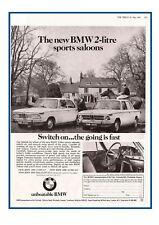 Vintage German BMW Promotion Poster