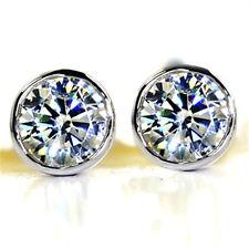 classic diamond stud style crystal stud earrings multiple choices
