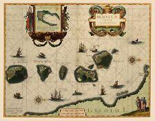 Old Asia Map - Maluku Islands, Indonesia - Blaeu 1630 - 23 x 29.53
