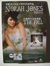 "NORAH JONES ""THE FALL""HONG KONG STANDUP COUNTER DISPLAY"