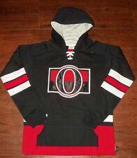 Ottawa Senators Youth Laced Up Primary Logo CCM Hoodie S-8, M-10/12, L-14/16