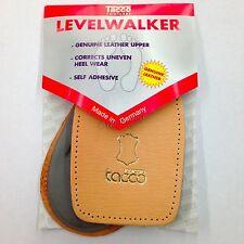 Tacco 634 Level Walker Leather Heel CushionsLatex Insoles Shoe Lifts Back Pads