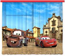 """""""Cars"""" Kinder Foto Vorhang Gardine 180x160cm"""