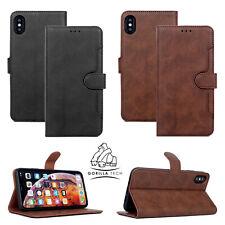 Gorilla Tech Premium Flip Wallet Case With Tempered Screen Protector iPhone 11