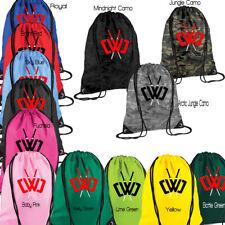 Chad Wild Clay, CWC NINJA Draw String Bag Gym Backpack School Shoe Sack PE EDM