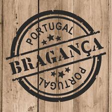 Vinilo de Corte Bragança Pegatina Braganza Portugal 10 cm Adhesivo Pared Tablet