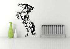 WILD Horse permanente GALLOPING Muro Arte Adesivo Decalcomania Murale Stencil in Vinile Stampa