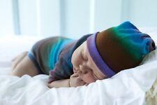 Merino  Boy's Baby Beanies Hats Hand Dyed Soft Australian Merino Wool
