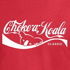 """""""cebador un koala"""" Gracioso Camiseta: australiano presente Idea de Regalo (Coca Cola Estilo) Nueva Zelanda"""
